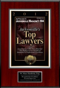 Jacksonville Top Lawyers W. Marc Hardesty