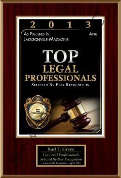KARL GREEN - 2013 Top Professionals