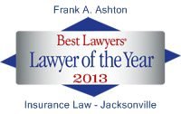 Jacksonville Personal Injury Attorney Frank A. Ashton