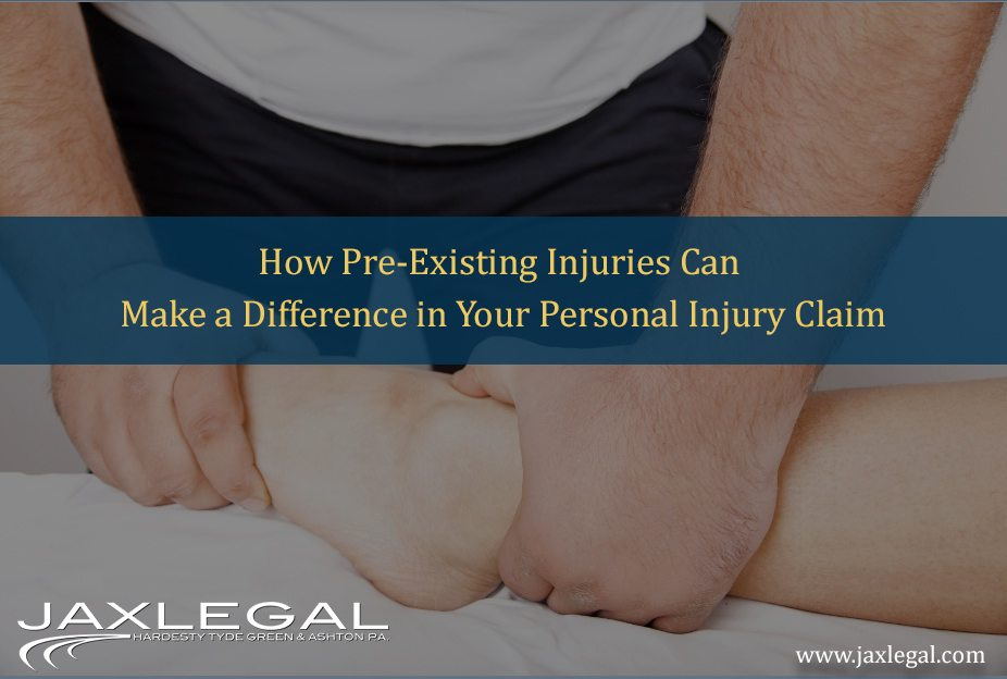 How Pre Existing Injuries Can Make a Difference in Your Personal Injury Claim