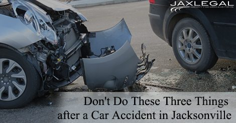 Car Accident in Jacksonville