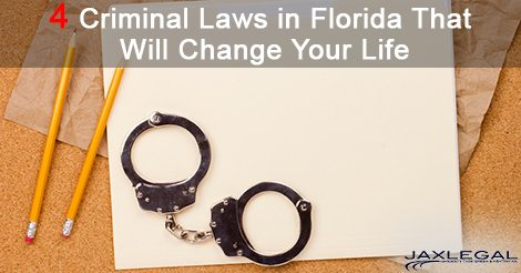 4 Criminal Laws In Florida That Will Change Your Life
