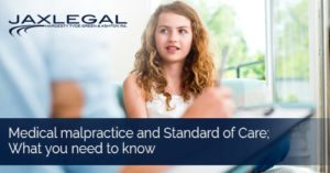 Medical malpractice and Standard of Care