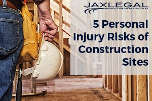 5 Personal Injury Risks of Construction Sites