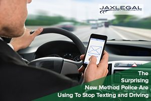 The Surprising New Method Police Are Using To Stop Texting and Driving