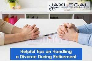 divorce during retirement